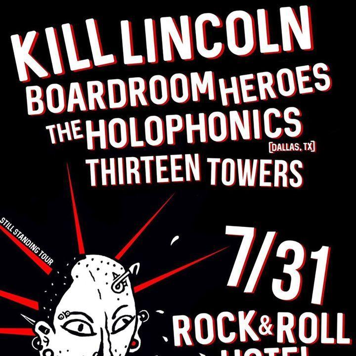 Kill Lincoln Tour Dates