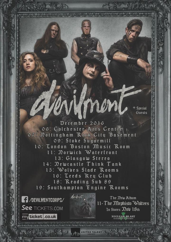 Devilment @ Rock City Basement - Nottingham, United Kingdom