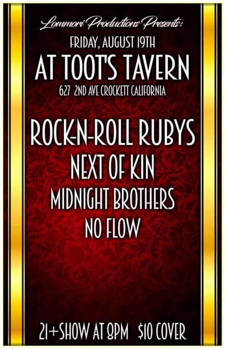 Rock n Roll Rubys Tour Dates