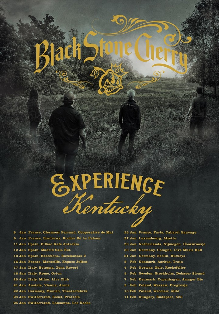 Black Stone Cherry @ Live Music Hall - Cologne, Germany