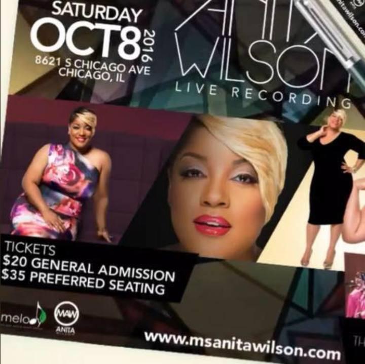 Anita Wilson Tour Dates