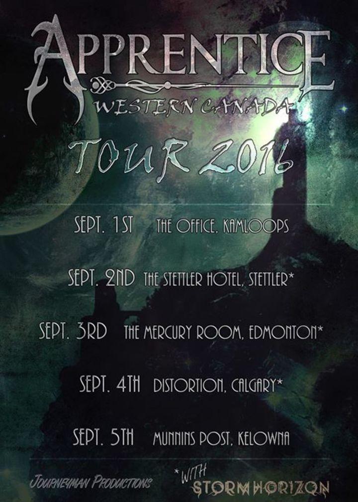 Apprentice Tour Dates
