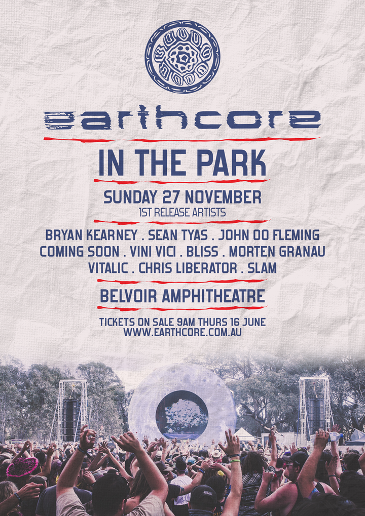Bryan Kearney @ Earthcore In The Park - Perth, Australia