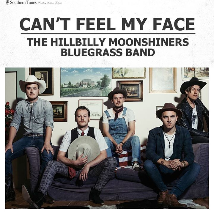 The Hillbilly Moonshiners Bluegrass Band @ Cowboy Up - Oostkamp, Belgium