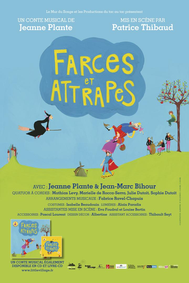 Farces et Attrapes @ Train Théâtre - Portes-Lès-Valence, France