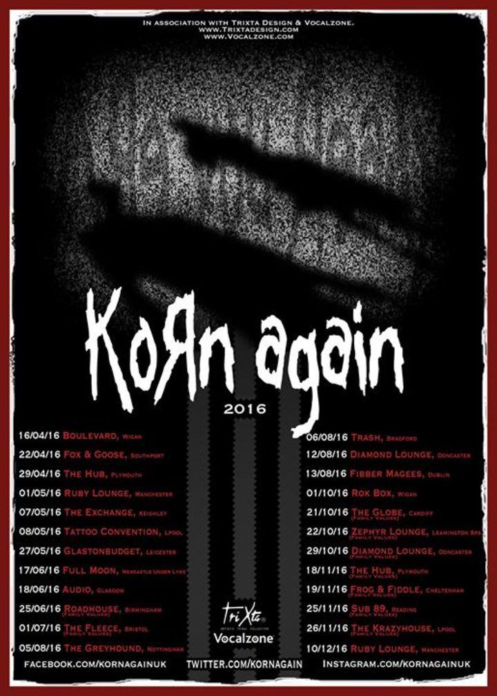 Korn Again Tour Dates