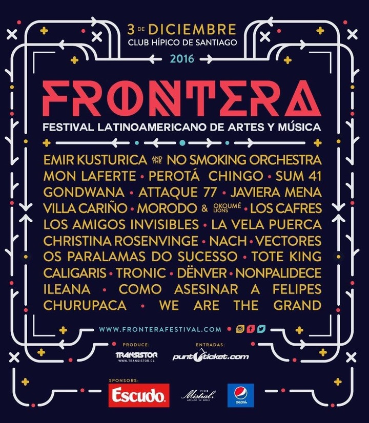 Nonpalidece @ Frontera - Santiago, Chile