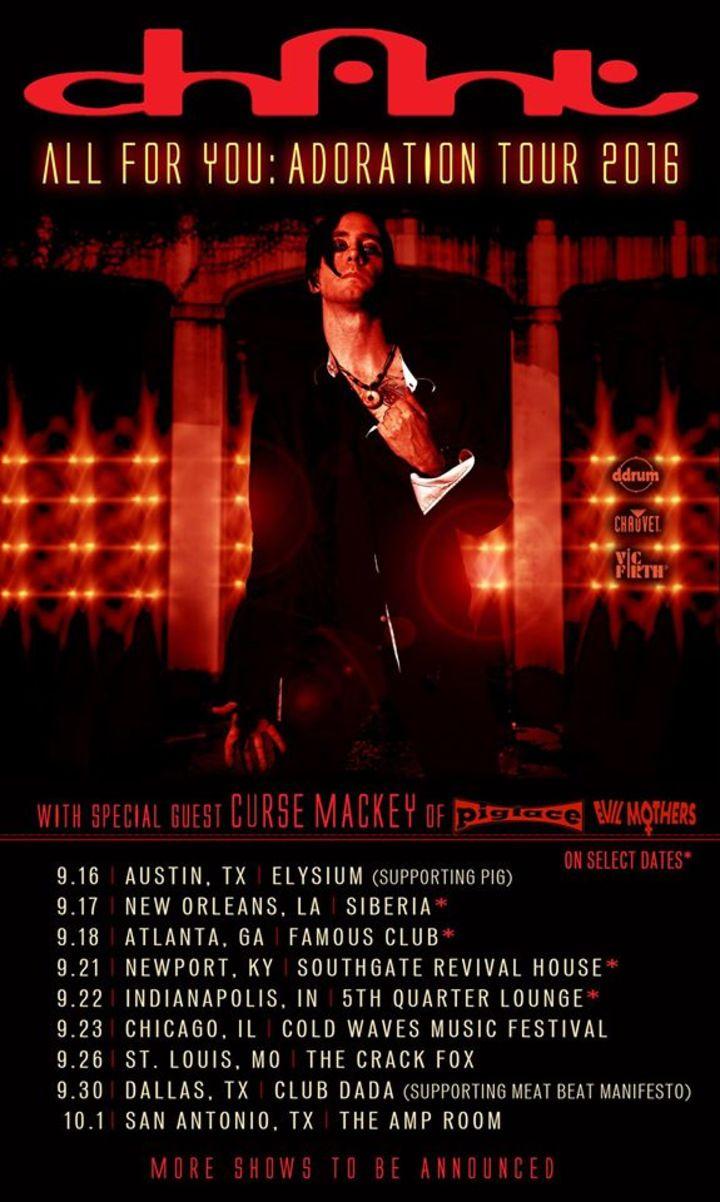 CHANT_Official Tour Dates