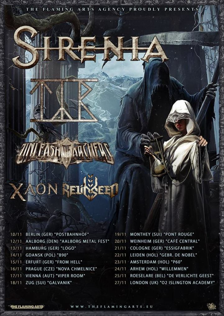 Sirenia @ O2 Academy Islington - London, United Kingdom