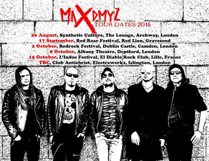 MaxDmyz Tour Dates