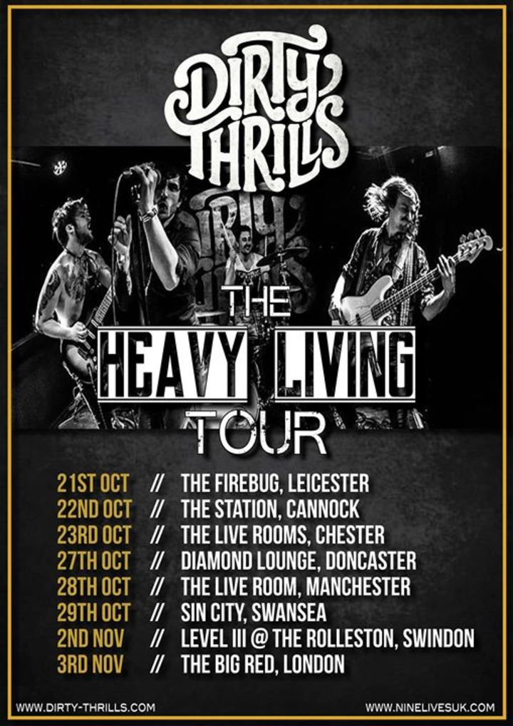 Dirty Thrills Tour Dates