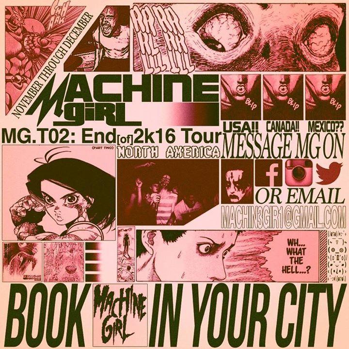 Machine Girl Tour Dates
