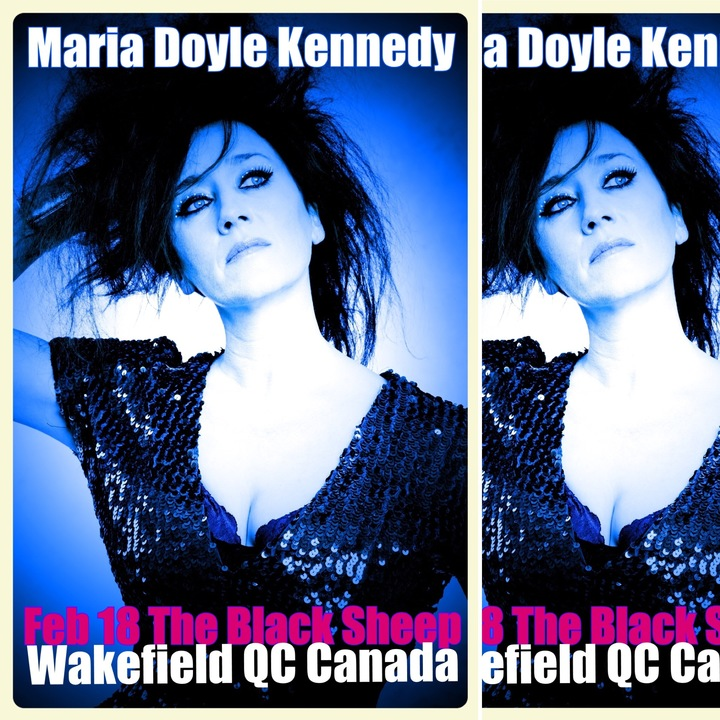 Maria Doyle Kennedy @ The Black Sheep Inn - La Pêche, Canada
