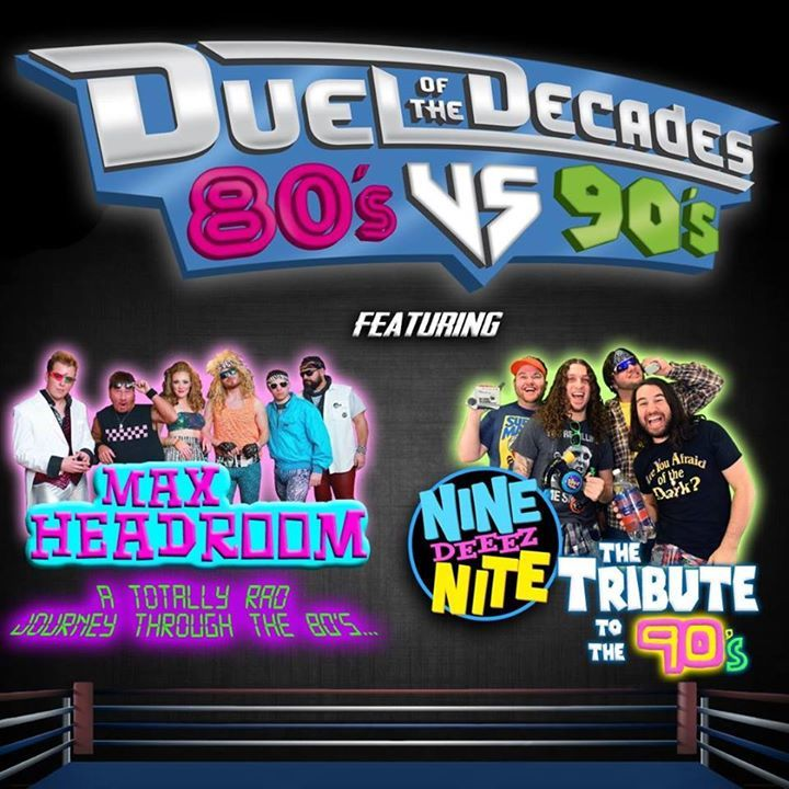 Duel of the Decades: 80's vs 90's Tour Dates