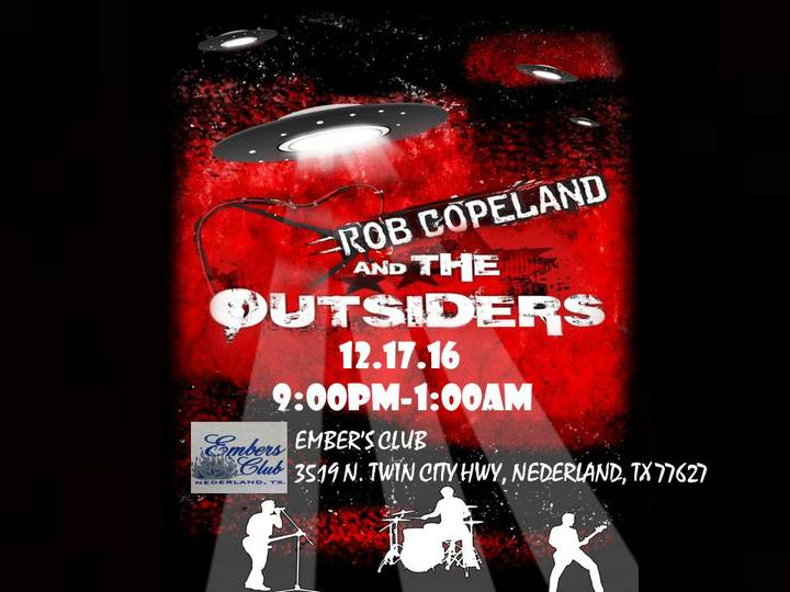 Rob Copeland @ Embers Club - Nederland, TX