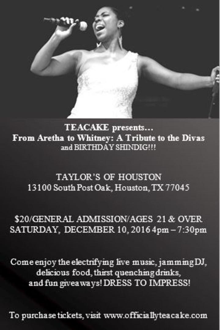 TEACAKE @ TAYLOR'S OF HOUSTON - Houston, TX