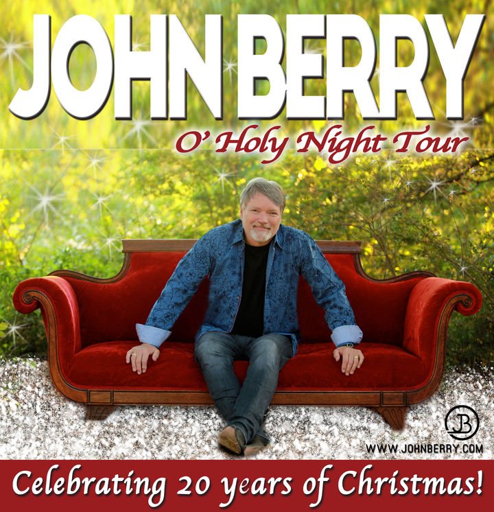 John Berry @ The Cervantes Theatre for the Arts, Riverside Military Academy - Gainesville, GA