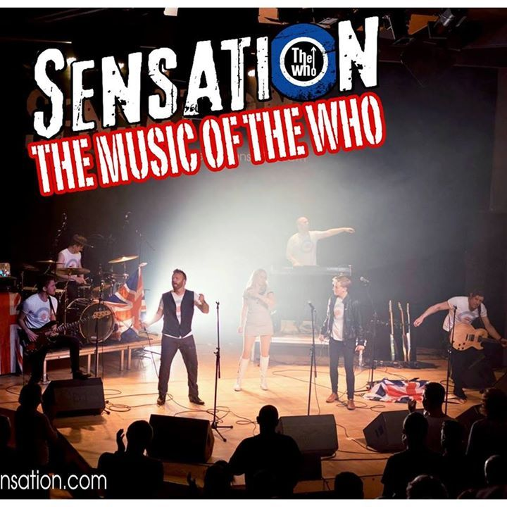 The Who Sensation @ Theatre On The Steps - Bridgnorth, United Kingdom
