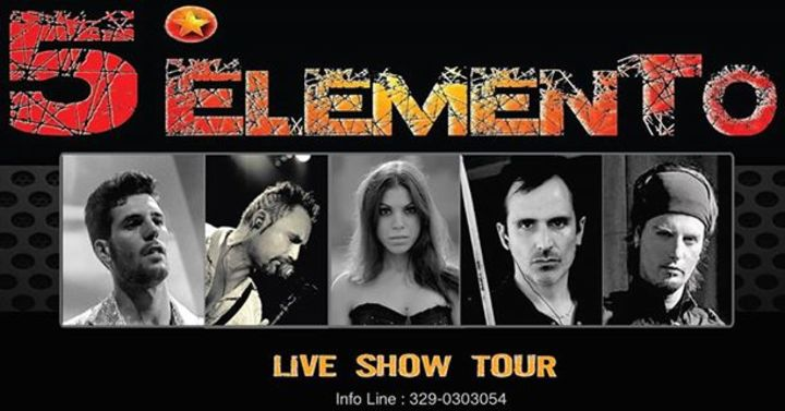QUINTO ELEMENTO SHOW BAND Tour Dates