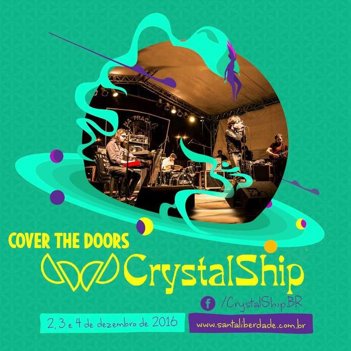 CrystalShip - The Doors Tribute BR @ Santa Liberdade #5 - Sagrado Feminino - Itapira, Brazil