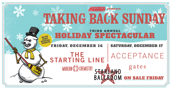 Acceptance @ Starland Ballroom - Sayreville, NJ