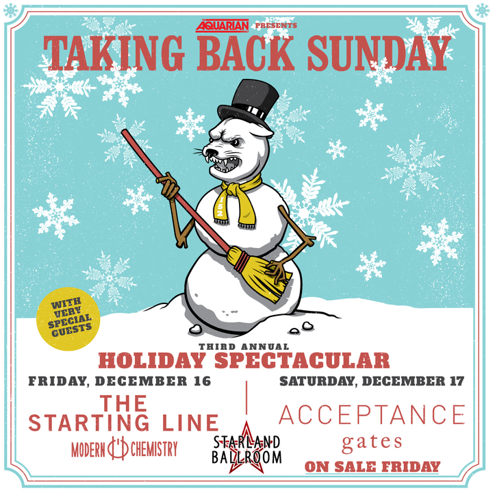 Taking Back Sunday @ Starland Ballroom - Sayreville, NJ