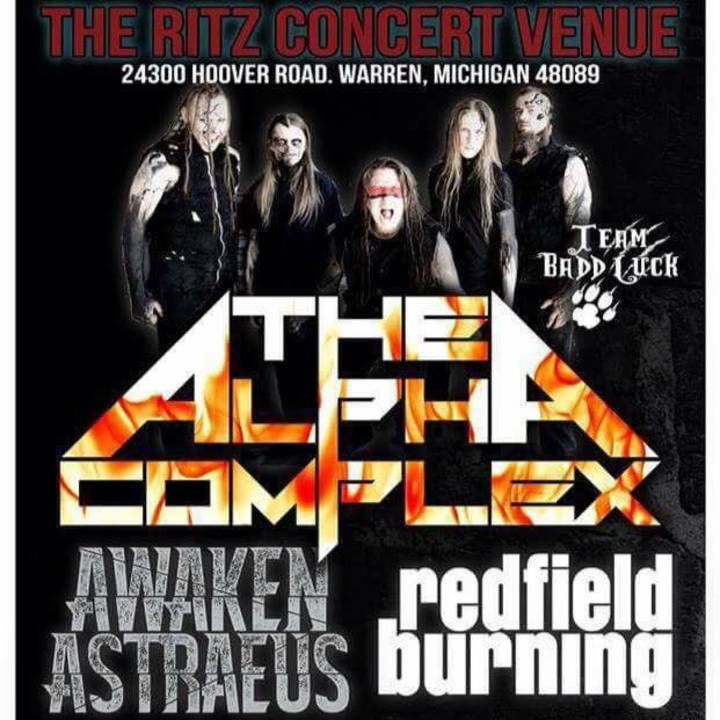 Redfield Burning Tour Dates