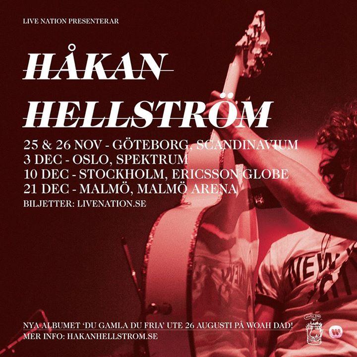 Hakan Hellstrom Tour Dates