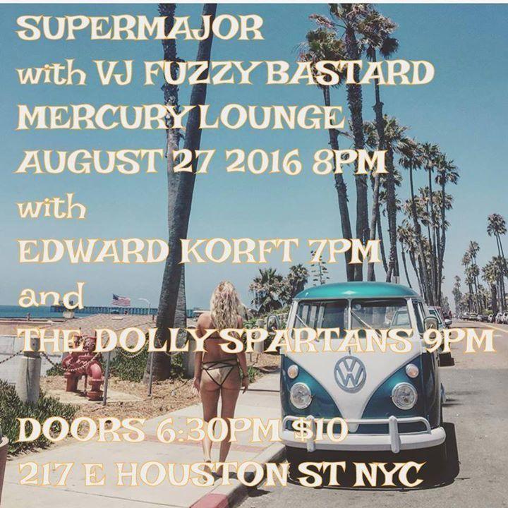 Supermajor @ Bowery Electric - New York, NY