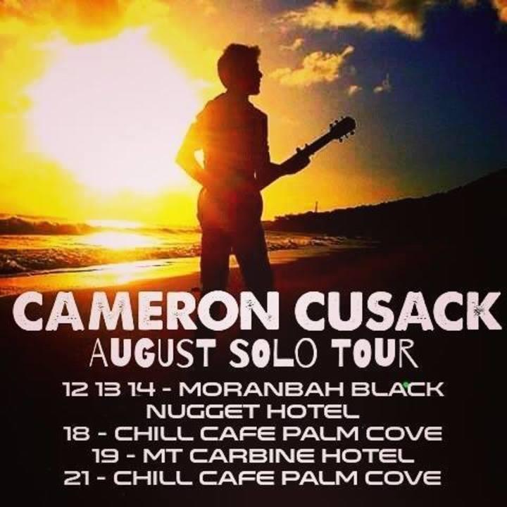 Cameron Cusack Tour Dates