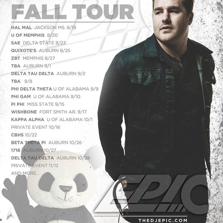 DJ Epic Tour Dates