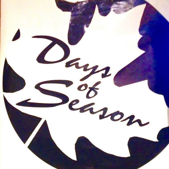 Days of Season Tour Dates