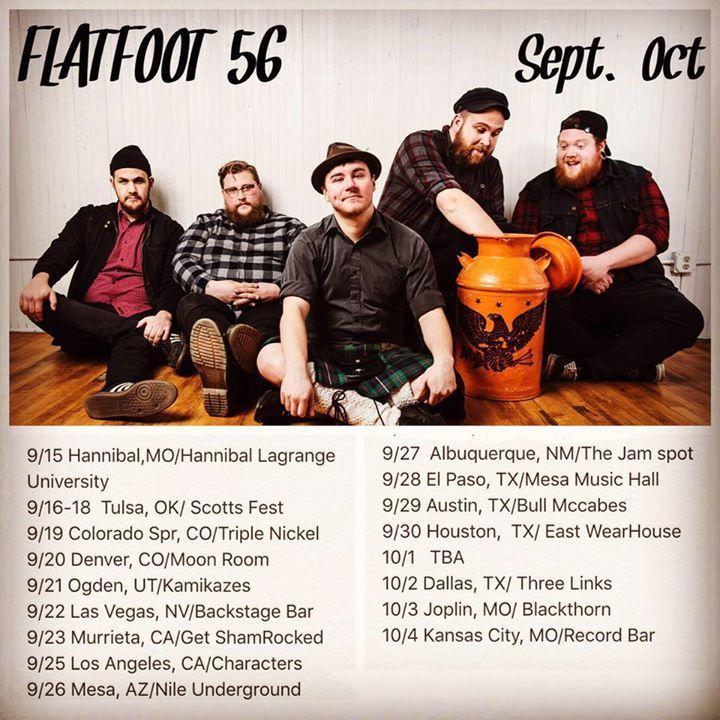 Flatfoot 56 Tour Dates