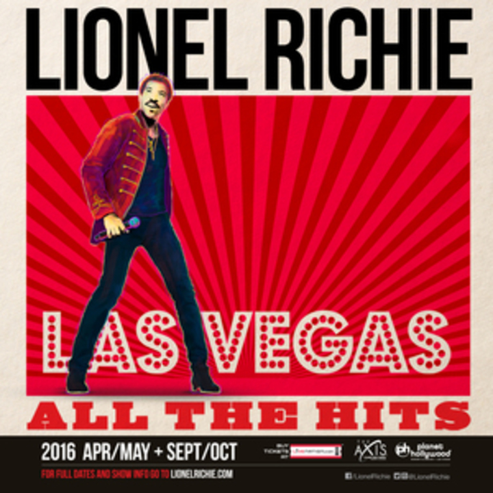 Lionel Richie @ The AXIS at Planet Hollywood - Las Vegas, NV