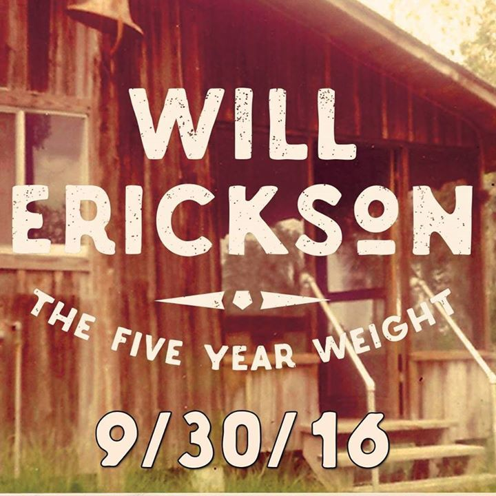 Will Erickson Tour Dates