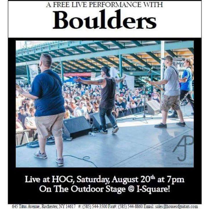 Boulders Tour Dates