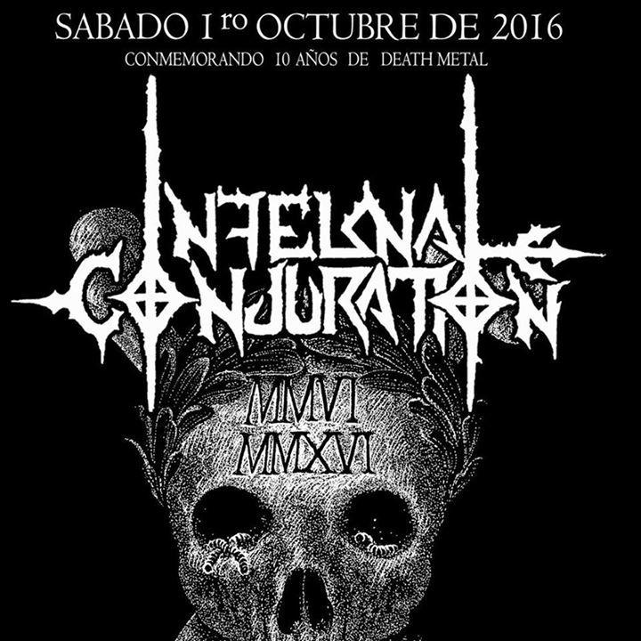 Infernal Conjuration Tour Dates