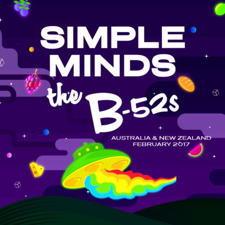 The B-52's @ Bimbadgen - Pokolbin, Australia