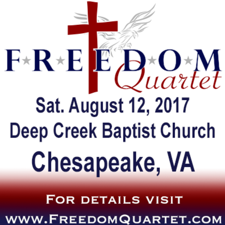 Freedom Quartet @ Deep Creek Baptist Church - Chesapeake, VA
