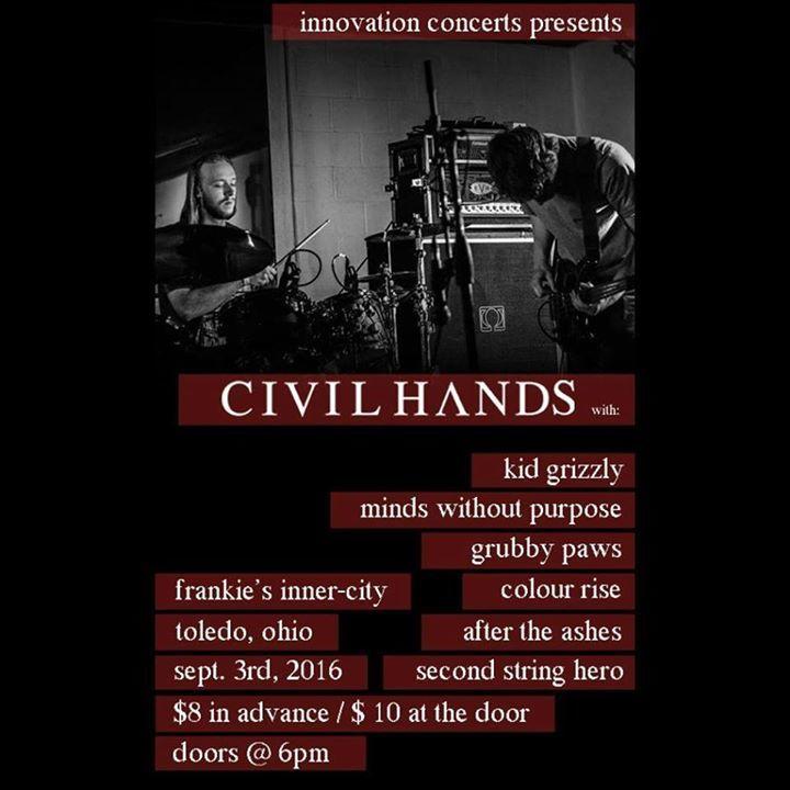 Civil Hands Tour Dates