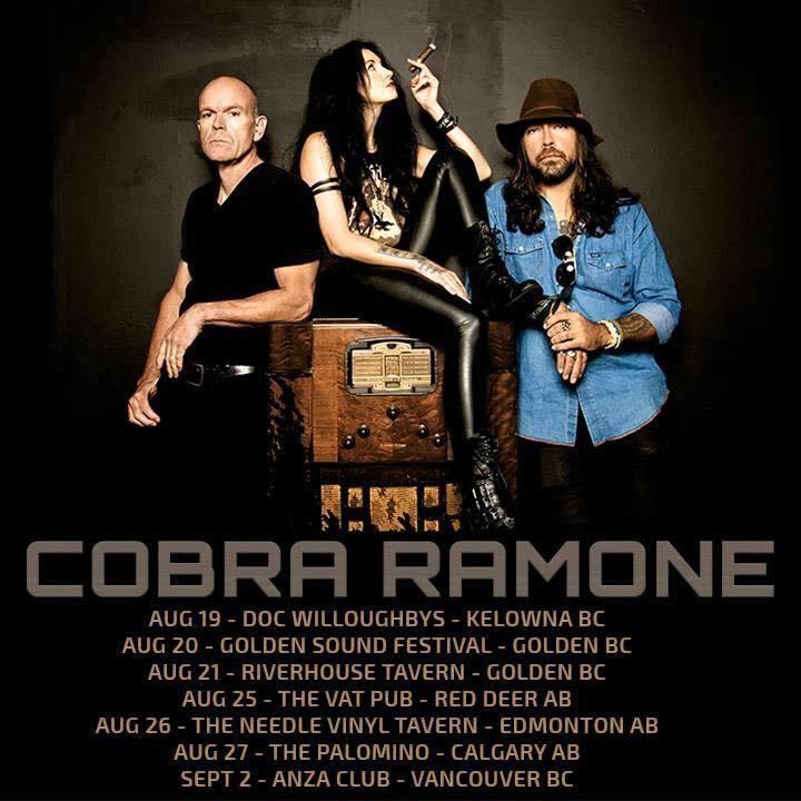 Cobra Ramone Music Tour Dates
