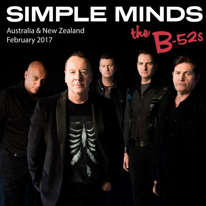 Simple Minds @ Horncastle  Arena - Christchurch, New Zealand