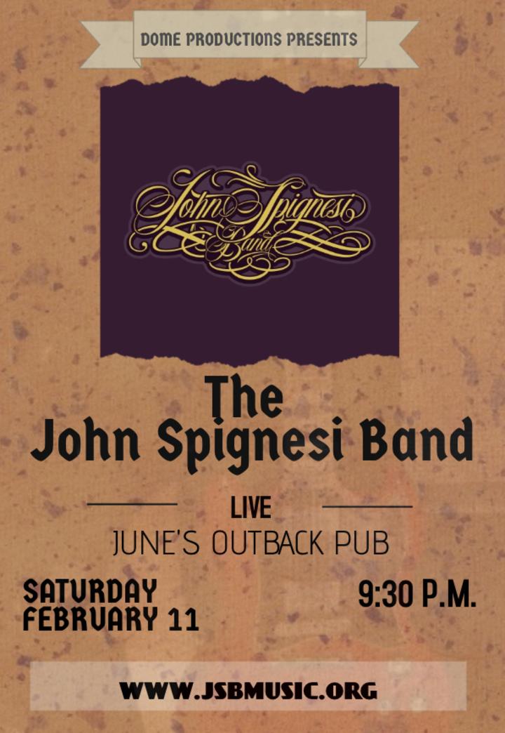 John Spignesi Band - JSB @ June's Outback Pub - Killingworth, CT