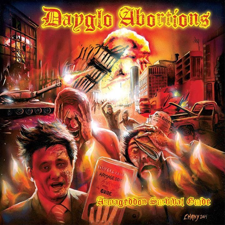 Dayglo Abortions Tour Dates