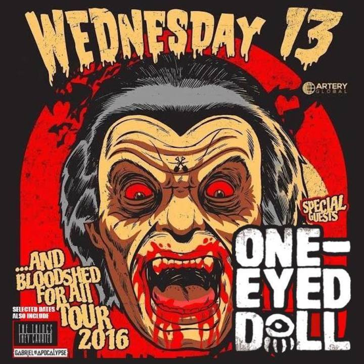 One-Eyed Doll Tour Dates