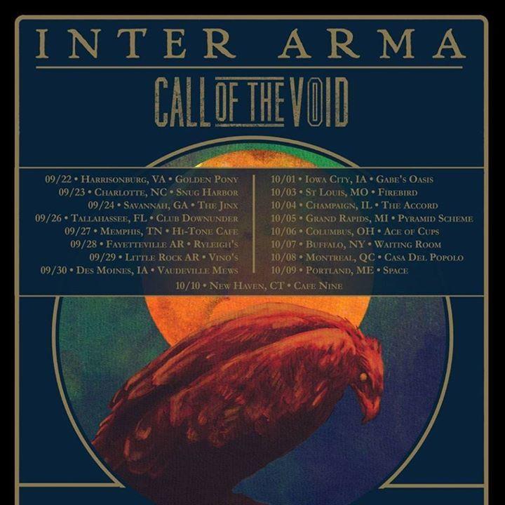 Inter Arma Tour Dates