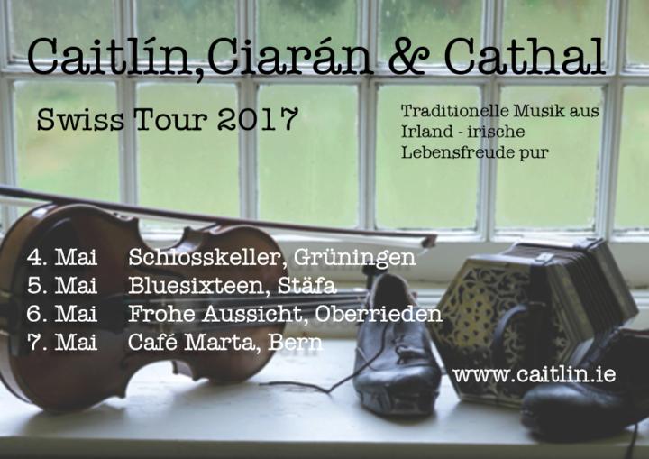 Caitlín Nic Gabhann @ Schlosskeller - Gruningen, Switzerland