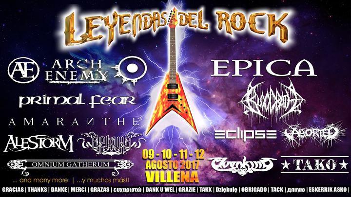 Elvenking @ Leyendas Del Rock - Villena, Spain