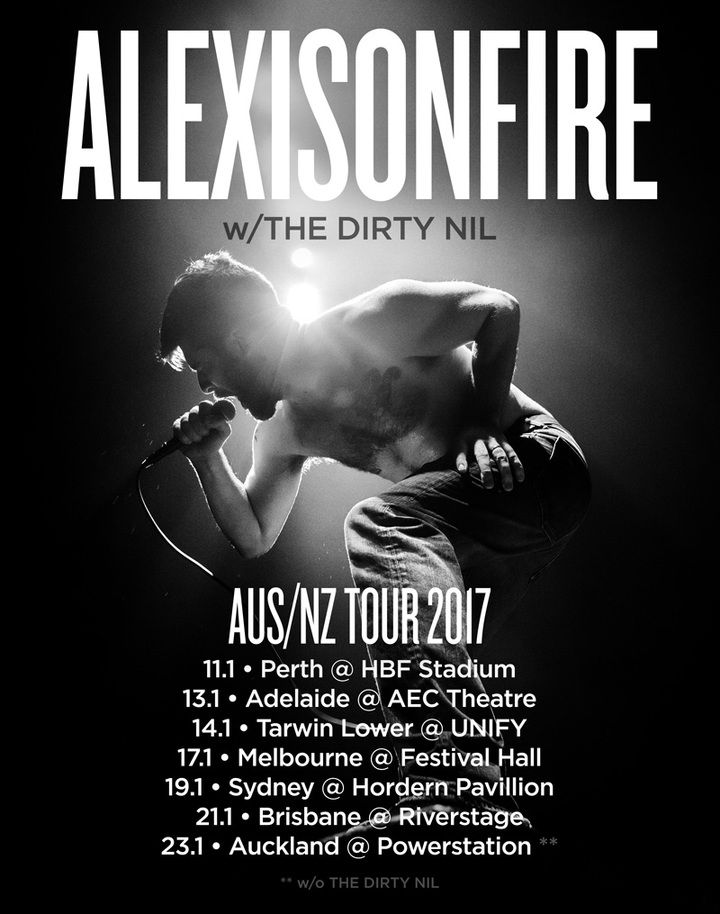 Alexisonfire @ HBF Stadium - Mount Claremont, Australia
