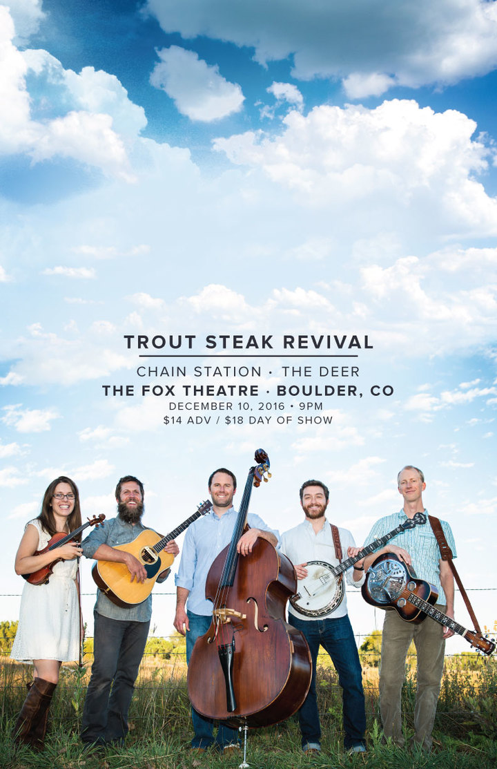Trout Steak Revival @ Fox Theatre - Boulder, CO